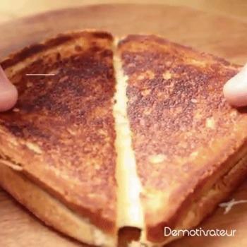 Recette de délicieux pain toastés au fromage