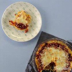 Tarte aux spaghettis et tomates la recette originale