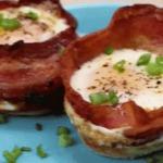 Coupes de bacon aux oeufs super facile à réaliser