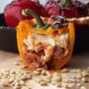 Recette super originale de poivrons fourrés aux lasagnes