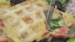 Très belle recette de gaufres façon raclette