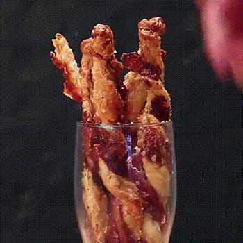 Délicieuse recette d'entortillés au bacon idéales pour l'apero