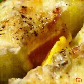 Délicieuse recette de pomme de terre façon oeuf cocotte