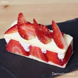 Délicieuse recette de mini charlotte aux fraises
