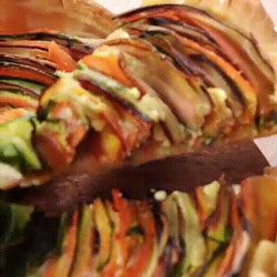 Incroyable recette de tarte au spirales de légumes