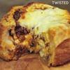 Recette incontournable de boule de pain fourrée aux lasagne, magique !