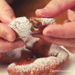Délicieux dessert de fingers au nutella un régal