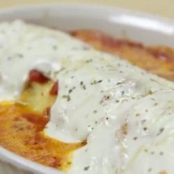 Recette toute simple de lasagnes roulées