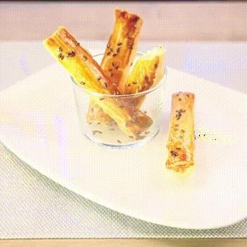 Une recette de fingers feuilletés idéale pour l'apéritif
