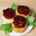 Recette originale de mini pizza en forme de rose