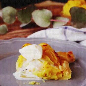 Recette super originale de tarte à la patate douce