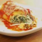 Délicieuses lasagnes roulées au épinards la recette facile