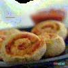Superbe recette de minis roulés au délicieux goût de pizza