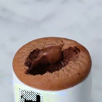 Magnifique recette de petit gâteau soufflé au Nuttela