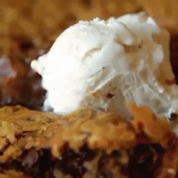 Une belle recette de gâteau délicieux aux cookies