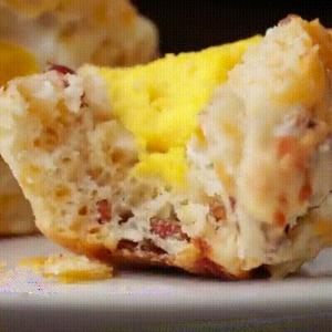 recette originale de muffins sal s fourr s aux oeufs giffood. Black Bedroom Furniture Sets. Home Design Ideas