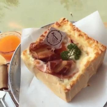 Recette originale de pain petit déjeuner tout en un