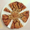 Délicieuse recette de tarte au Nutella en forme de soleil